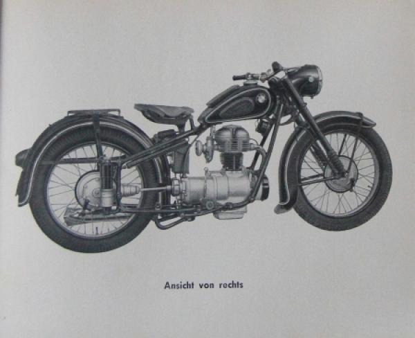 bmw motorrad r 25 2 bedienungs handbuch 1952 nr 1717. Black Bedroom Furniture Sets. Home Design Ideas