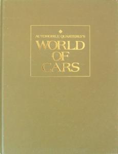 "Automobil Quarterly ""World of cars"" Fahrzeughistorie 1981"