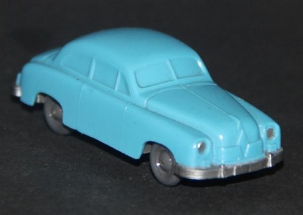 Wiking Borgward Hansa 1800 Plastik ohne Trittbretter unverglast 1955