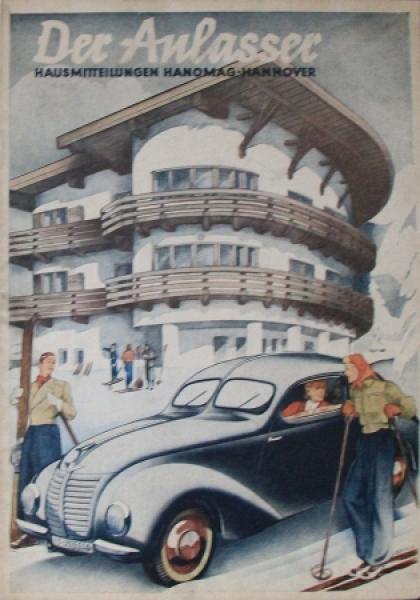"""Hanomag """"Der Anlasser"""" Firmenzeitschrift 1939"""
