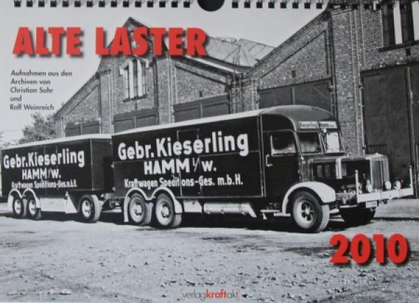 Alte Lastwagen - LKW-Jahreskalender mit historischen Motiven 2010