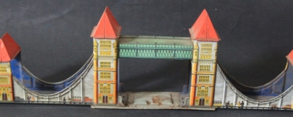 "Technofix ""Tower-Bridge"" Blechmodell 277 für Technofixbahn 1947"
