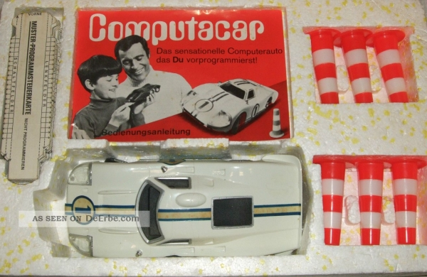 "Hasbro Haselfeld Brothers ""Computar Car"" Fernsteuer-Modell in Originalbox Made in USA 1968 0"