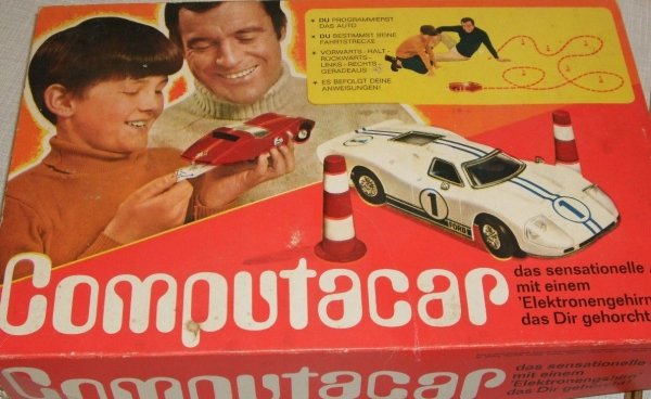 "Hasbro Haselfeld Brothers ""Computar Car"" Fernsteuer-Modell in Originalbox Made in USA 1968 1"
