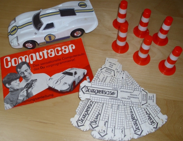 "Hasbro Haselfeld Brothers ""Computar Car"" Fernsteuer-Modell in Originalbox Made in USA 1968 2"