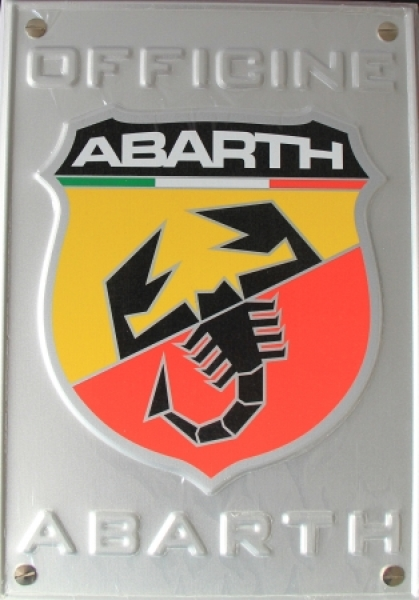 Abarth Officine Pressemappe Genf 2007 Automobilprospekt