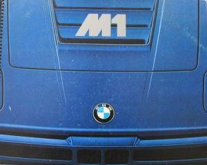 BMW M 1 Modellprogramm 1978 Automobilprospekt