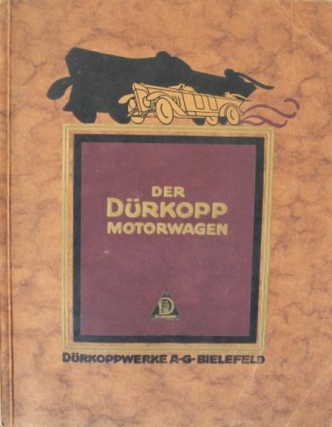 Dürkopp Motorwagen 1924 Automobilprospekt