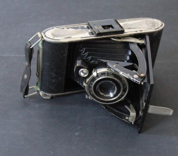 Borgward Agfa-Fotoapparat der Werks-Rennabteilung 1938 0