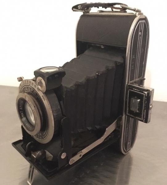 Borgward Agfa-Fotoapparat der Werks-Rennabteilung 1938 2