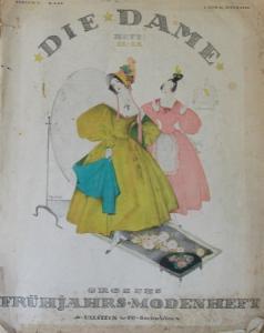 """Ullstein """"Die Dame"""" Gesellschaftsmagazin 1916"""