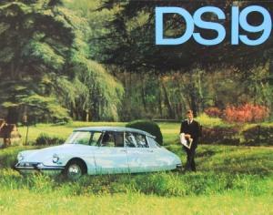 Citroen 19 Modellprogramm 1963 Automobilprospekt