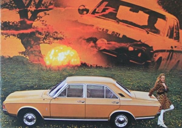 Ford Taunus 20M Modellprogramm 1967 Automobilprospekt
