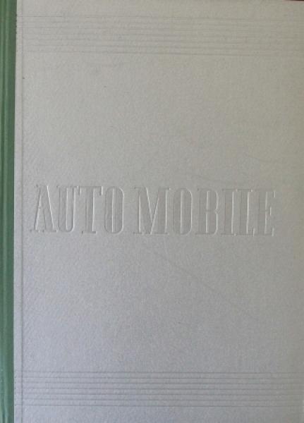 "Buberl ""Auto Mobile - Vergangenheit, Gegenwart, Zukunft"" Fahrzeughistorie 1950"