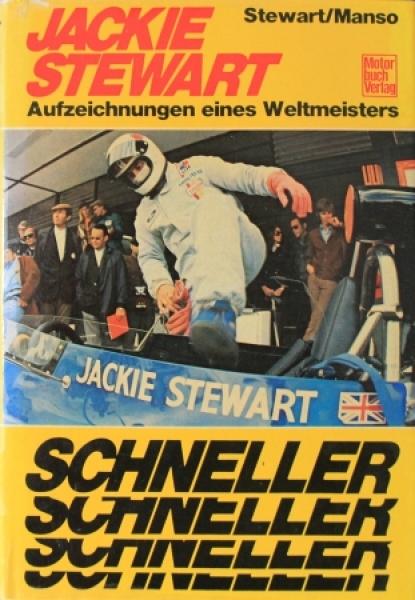 """Stewart """"Jackie Stewart"""" Rennfahrer-Biographie 1974"""