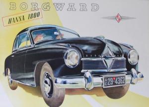 Borgward 1800 Hansa 1953 Automobilprospekt