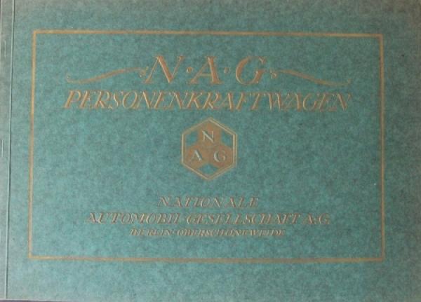 NAG Type C4 Personenwagen 1922 Automobilprospekt