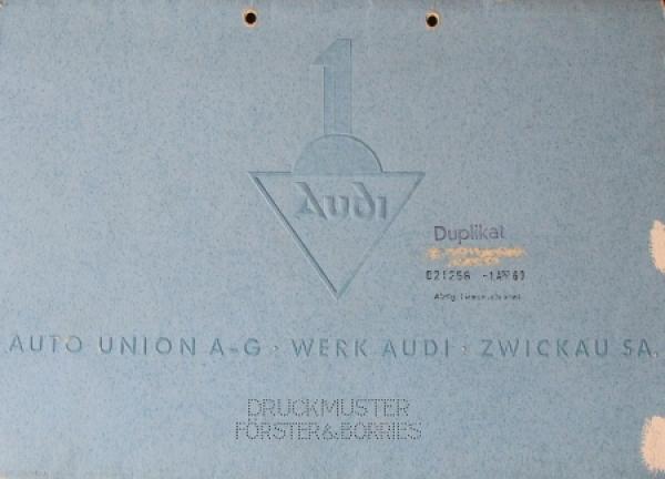 Audi Auto-Union Zwickau Modellprogramm 1935 Automobilprospekt