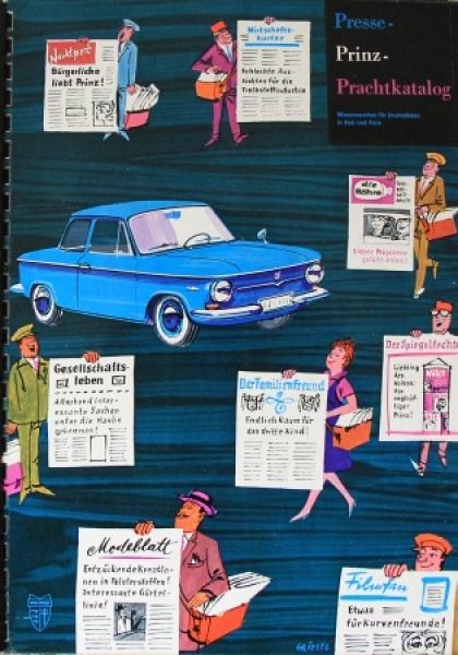 "NSU Prinz ""Presse-Prachtkatalog"" NSU Pressemappe 1961"