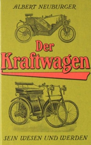 """Neuburger """"Der Kraftwagen"""" Fahrzeug-Historie 1987"""
