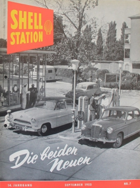 """Shell Station"" Tankstellen-Magazin 1953"