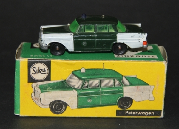 Siku Mercedes Benz 190 Peterwagen 1965 Metallmodell V250 in Originalbox