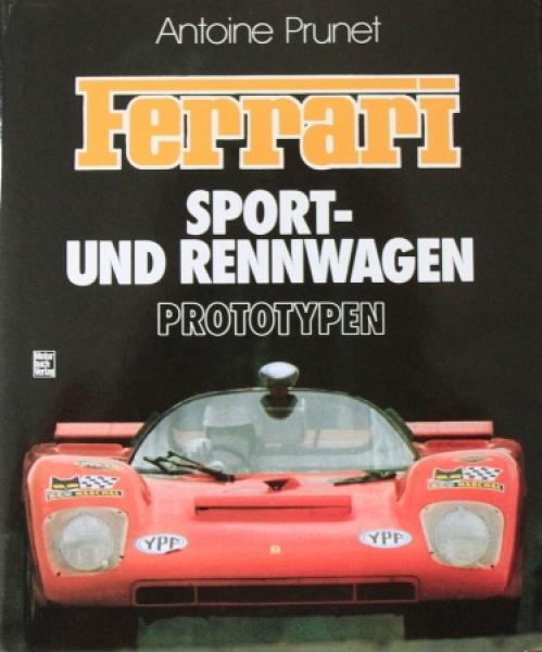 """Prunet """"Ferrari - Sport und Rennwagen"""" Ferrari-Historie 1991"""