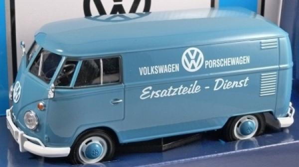 Porschewagen Ersatzteile 1:24 von Motormax VW T1 blau Transporter Volkswagen