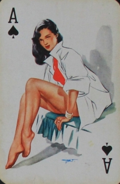 "Darling ""Pin-up Playingcards"" Kartenspiel 1956"