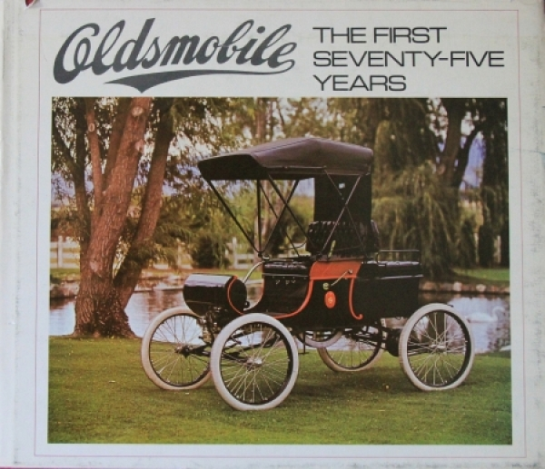 "Bailey ""Oldsmobile - The first 75 years"" Oldsmobile-Historie 1972"