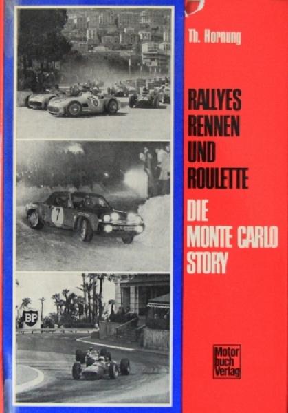 """Hornung """"Die Monte-Carlo Story"""" Rallye-Historie 1972"""