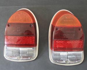 Volkswagen Käfer 1200 Hella-Rücklichtleuchten mit Chromring 1968
