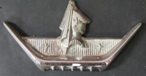 Ford Mercury Motorhauben-Emblem 1956 Metall