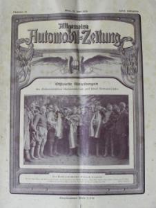 """""""Allgemeine Automobil-Zeitung"""" Magazin 1926"""