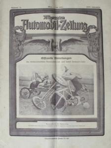 """""""Allgemeine Automobil-Zeitung"""" Magazin 1925"""