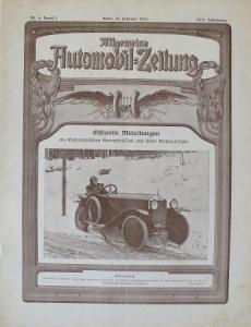 """""""Allgemeine Automobil-Zeitung"""" Magazin 1923"""