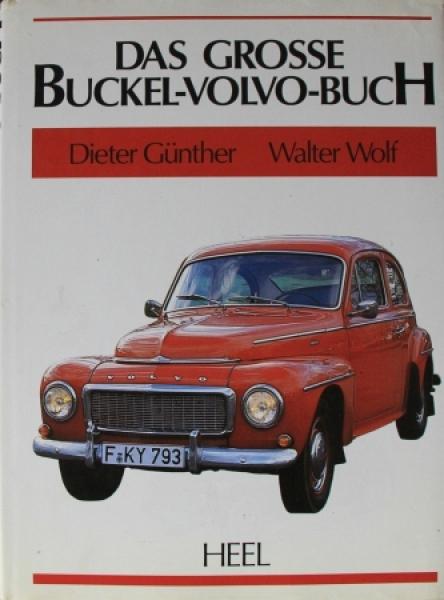 """Günther """"Das grosse Buckel-Volvo Buch"""" Volvo-Historie 1990"""
