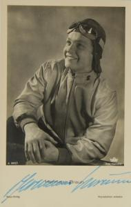 Hermann Braun Schauspieler 1940 Originalautogramm