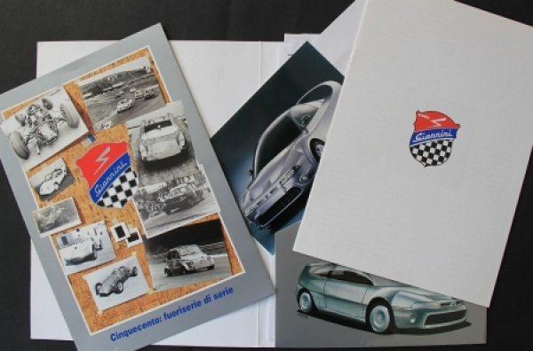 Giannini Pressemappe Modellprogramm 1992 Automobilprospekt (2408)Giannini Pressemappe Modellprogramm 1992 Automobilprospekt 1