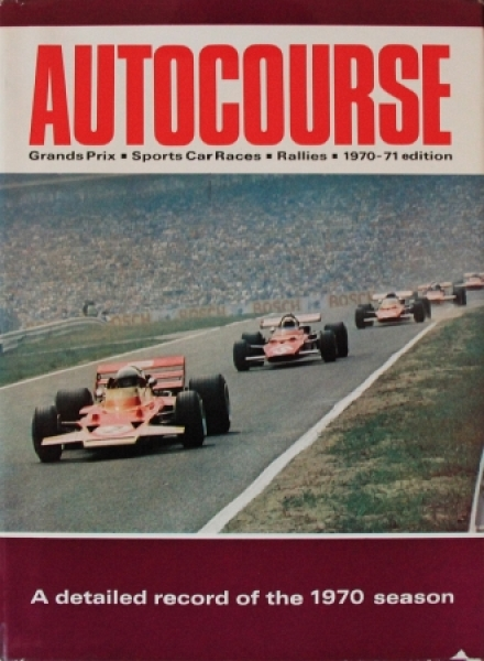 "Sporting Motorist ""Autocourse 1970-71 - International Motorsport Review"" Autorennsport 1970 0"