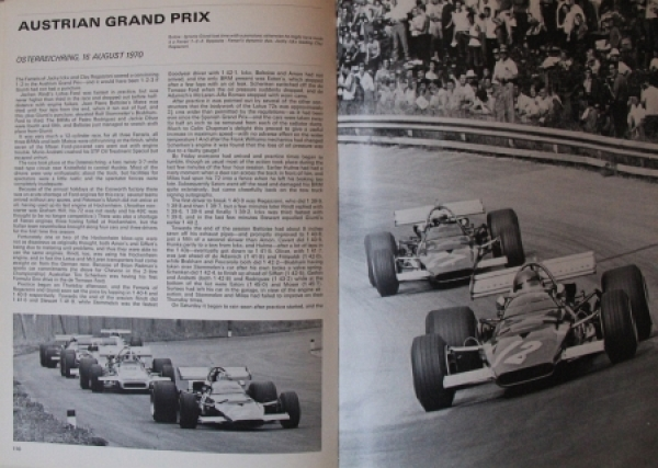 "Sporting Motorist ""Autocourse 1970-71 - International Motorsport Review"" Autorennsport 1970 1"