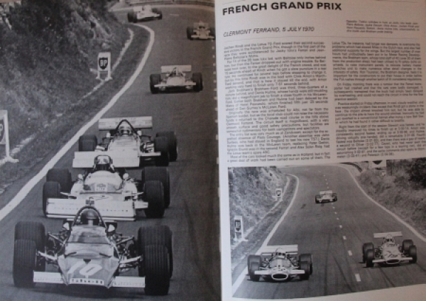 "Sporting Motorist ""Autocourse 1970-71 - International Motorsport Review"" Autorennsport 1970 2"