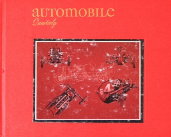 """Automobil Quarterly"" Volume 26 Ausgabe 1 Autohistorie 1988"