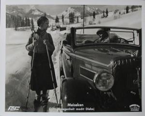 "Wanderer W21 Cabriolet Filmphoto ""Meiseken"" 1937 (5496)Wanderer W21 Cabriolet Filmphoto ""Meiseken"" 1937"