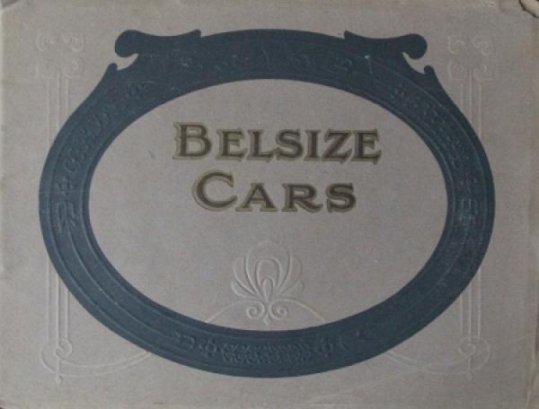 Belsize Cars Modellprogramm 1914 Automobilprospekt