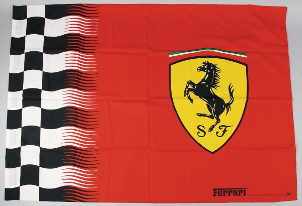 "Ferrari Fahne ""Nice Man Sports"" 1996"