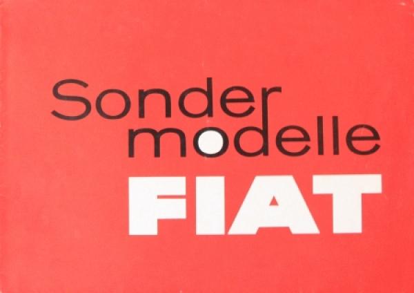 Fiat Sondermodelle Bianchi-Vigniale-Coupe 1963 Automobilprospekt