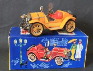 Schuco Mercer 35 J 1913 Metallmodell mit Originalkarton