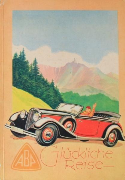"""Ambi Budd Presswerk """"Glückliche Reise"""" Imagebrochure 1934"""