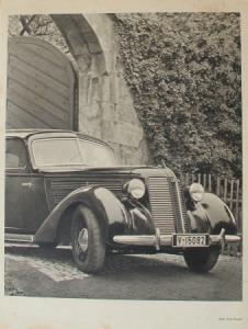Audi 1 Werbekarte von Paul Damm 1939
